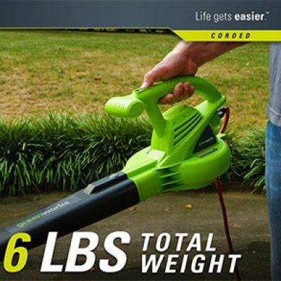 Greenworks Electric Blower Just $18.67 (Reg $50) + Prime