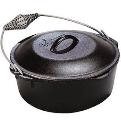Lodge 5-Quart Cast Iron Dutch Oven Just $27.78 + Free Pickup
