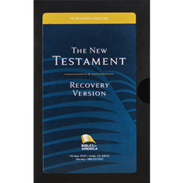 Free Recovery Version Bible