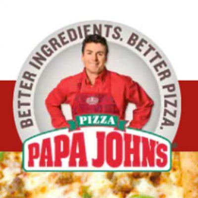 Papa John's: 50% Off Regular Price Pizza