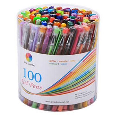 Smart Color Art 100-Color Gel Pen Set Just $15.99 (Reg $59.99)