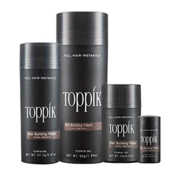Free Toppok Hair Building Fibers Samples