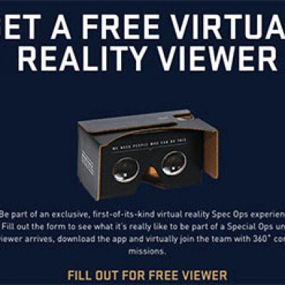 U.S. Air Force: Free Cardboard VR Viewer