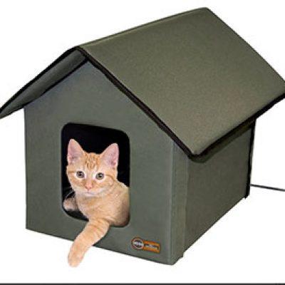 Outdoor Kitty House (Heated & Unheated) Just $37.49 (Reg $116)