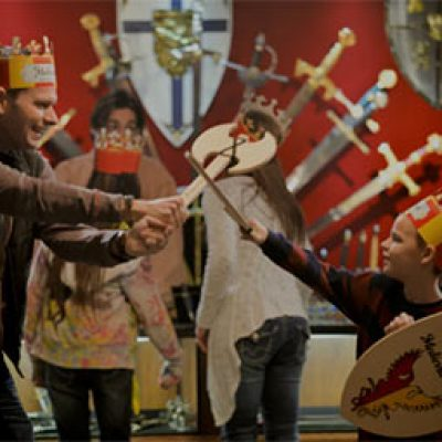 Medieval Times Dinner: Dad Free W/ Purchase
