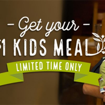 Olive Garden: $1 Kid's Meal W/ Purchase