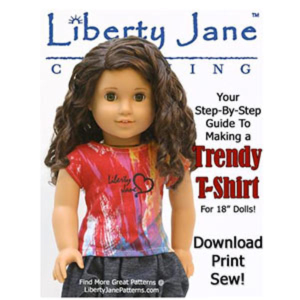 """Free 18"""" Doll Clothes Patterns"""
