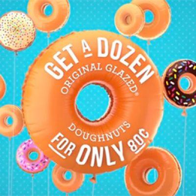 Krispy Kreme: Buy 1 Dozen, Get 1 for $0.80 - 7/14