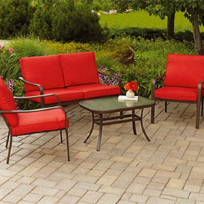 Mainstays 4-Piece Patio Set Just $159.99 (Reg $270) + Free Shipping