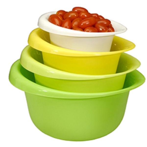 Cook Pro 4-Piece Mixing Bowl Set Just $6.99 + Prime