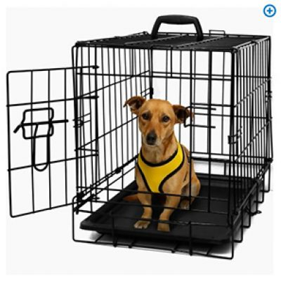 "OxGord 20"" Heavy Duty Foldable Single Door Dog Crate Just $21.95 (Reg $80) + Free Shipping"
