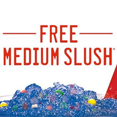 Sonic: Free Medium Slush W/ New Account