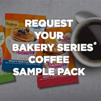 Dunkin' Donuts: Free Coffee Sample Pack