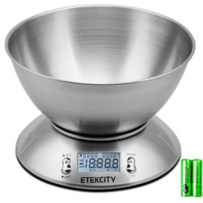 Etekcity Digital Kitchen Scale Just $15.39 (Reg $40)