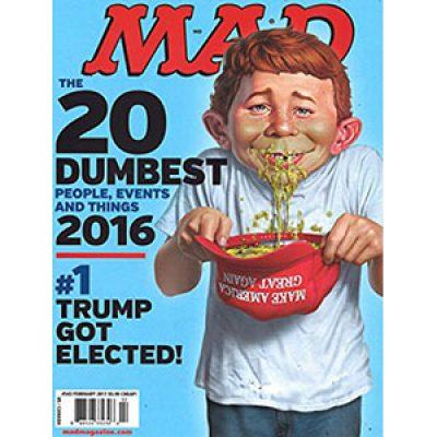 Free MAD Magazine Subscription