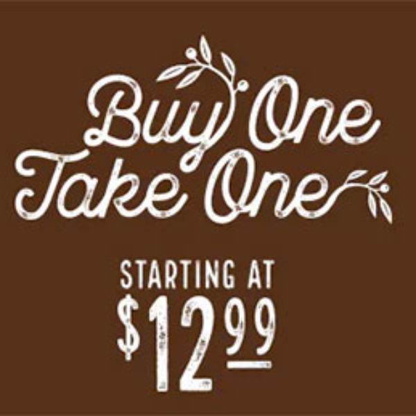 Olive Garden: Buy One Take One for $12.99