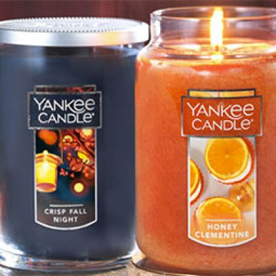 Yankee Candle: 2 for $36 Large Jar & Tumbler