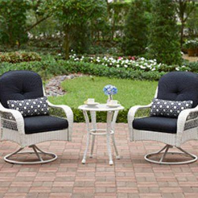 Better Homes and Gardens Azalea Ridge 3-Piece Woven Bistro Set Just $153.56 ($300)