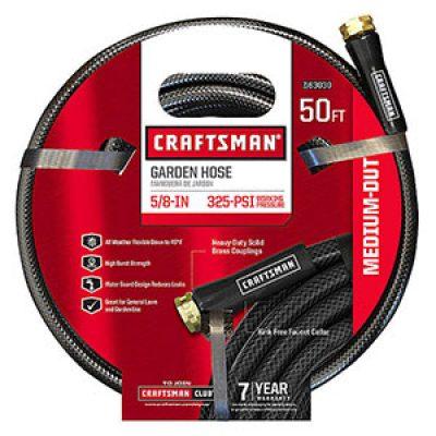 Craftsman Medium Duty Hose 50' Just $9.99 (Reg $16)