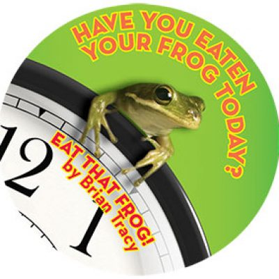 Free Eat That Frog Sticker