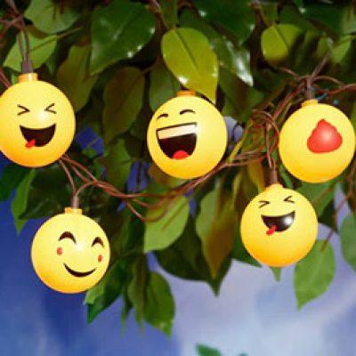 Mainstays Emoji String Lights Just $2.33 (Reg $5.96)