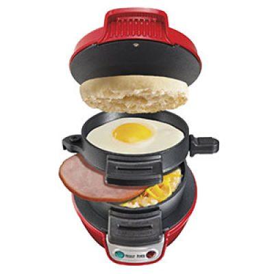 Hamilton Beach Breakfast Sandwich Maker $14.99 (Reg $30)