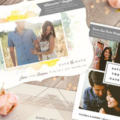 Free Save The Date Sample Kit