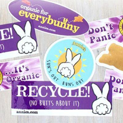 Free Annie's Stickers