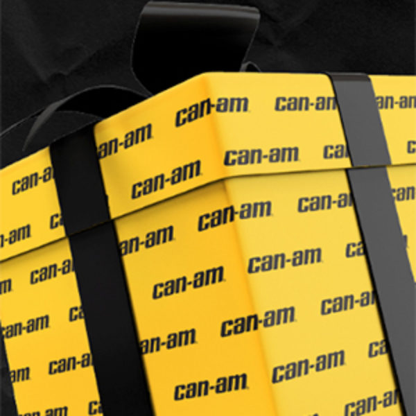 Free Can-Am Wrapping Paper + Chance To Win