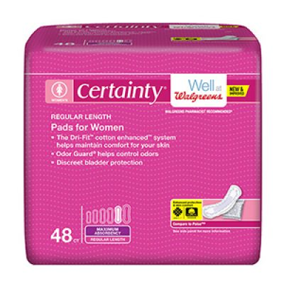 Certainty Incontinence Liner Coupon