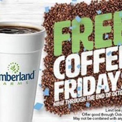 Cumberland Farms: Free Coffee Every Friday