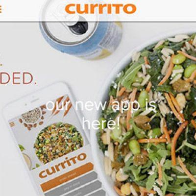 Currito: Free Salad, Bowl or Burrito W/ App