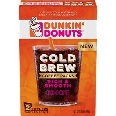 Dunkin' Donuts Cold Brew Coupon