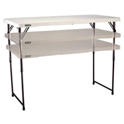 Lifetime 4' Adjustable Table Just $26.90 (Reg $47)