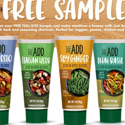 Free Just Add Seasoning Samples
