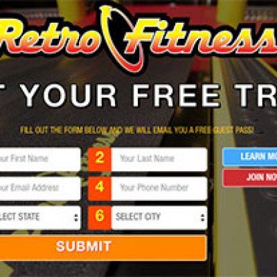 Free Retro Fitness Trial