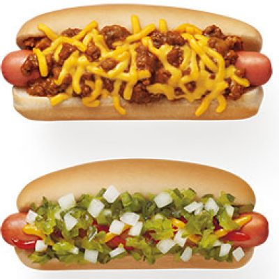 Sonic: $1 Hot Dogs All Day - Dec 6th