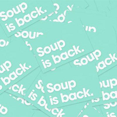 Free Fancy Soups Stickers