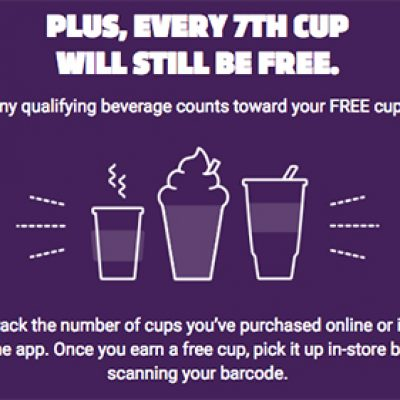 7-Rewards: Free Drink or Snack