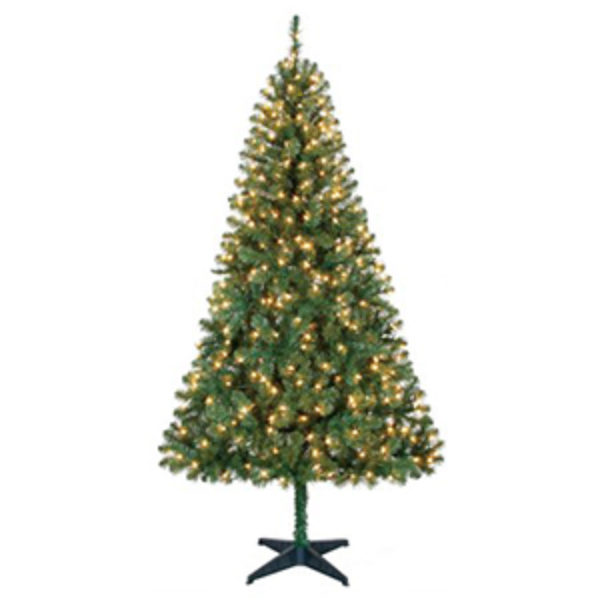Holiday Time Pre-Lit 6.5' Christmas Tree Just $39.00