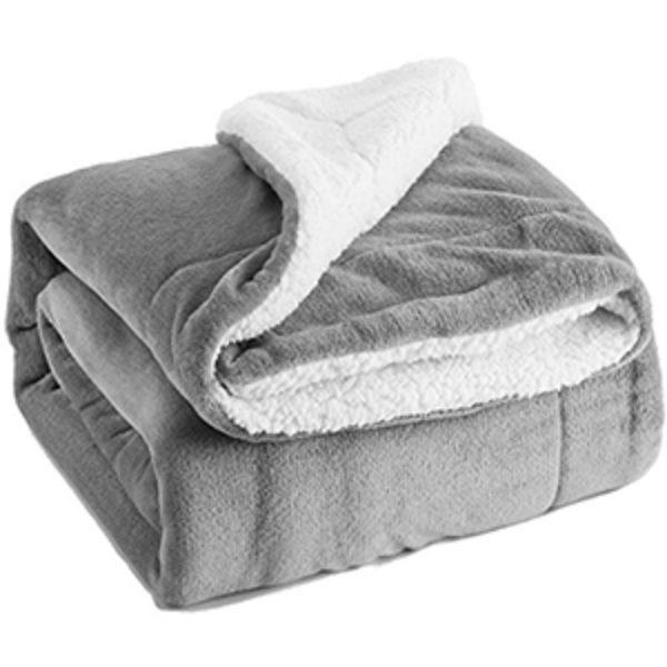 Sherpa Throw Blanket Just $16.69 (Reg $40)