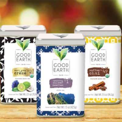Free Good Earth Tea Samples