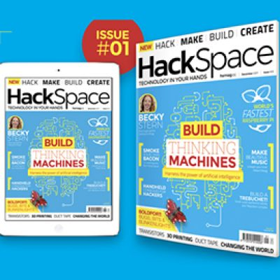Free HackSpace Magazine Subscription