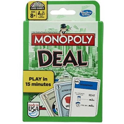 Monopoly Deal Card Game Just $4.99 as Add-on