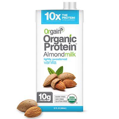 Orgain Almond Milk Coupon