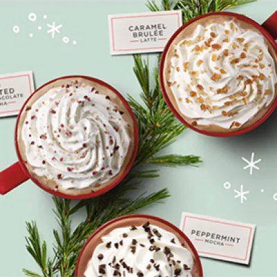 Starbucks: BOGO Free Holiday Drinks - 2-5pm