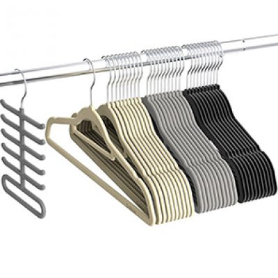 Sable Velvet Hangers 30-Pack Just $11.99 (Reg $14.99)