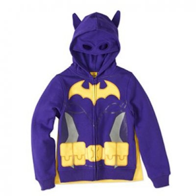 Girls' LEGO Batgirl Hoodie W/ Cape Just $10.50