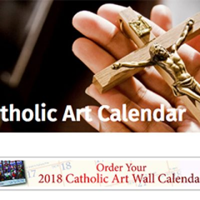 Free 2018 Catholic Art Calendar