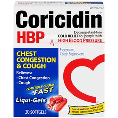 Coricidin HBP Coupon